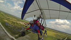 Hang gliding at Florida Ridge Air Sports Park