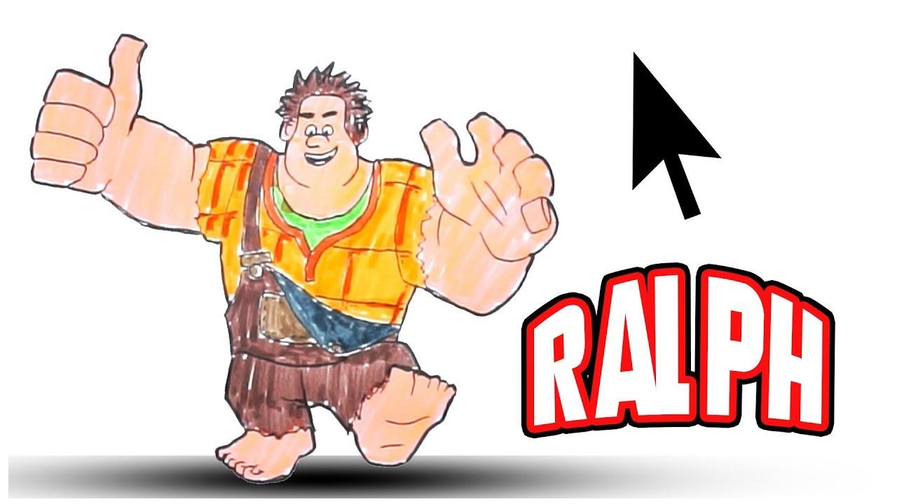 Ralph Spacca Internet Ralph Spaccatutto 2 Disegnare Il Protagonista