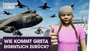 Wie kommt Greta Thunberg eigentlich zurück?