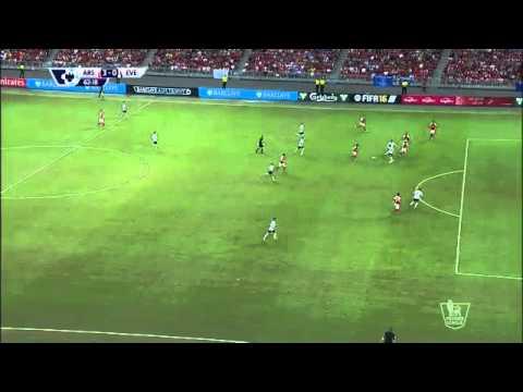 Everton (1) vs (3) Arsenal   Premier League Asia Trophy 2015