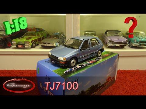 1:18 Daihatsu Charade / Mai He TJ7100  Review / Unboxing