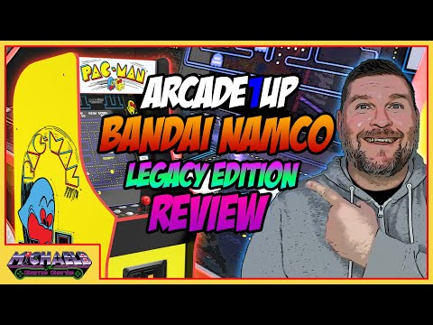 Arcade1Up Bandai Namco Legacy Edition Review from MichaelBtheGameGenie