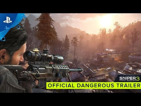 Sniper Ghost Warrior 3 - Official Dangerous Trailer | PS4