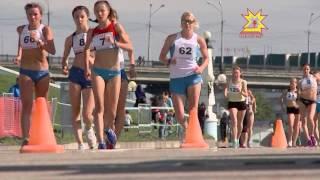 На набережной чебоксарского Залива прошел Кубок России по спортивной ходьбе