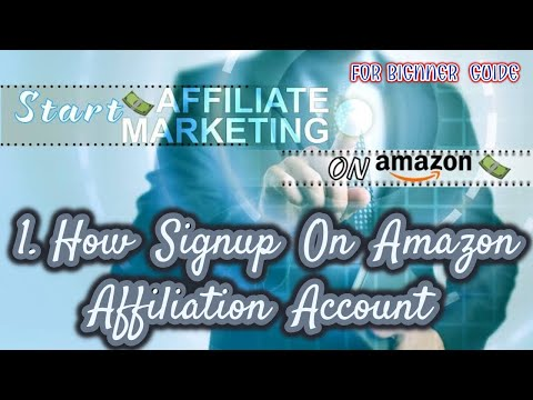 amazon affiliate program - amazon affiliate marketing: step-by-step tutorial for beginners thumbnail