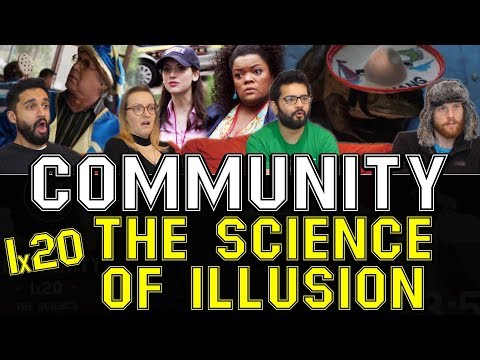 Community - 1x20 The Science of Illusion - Group Reaction