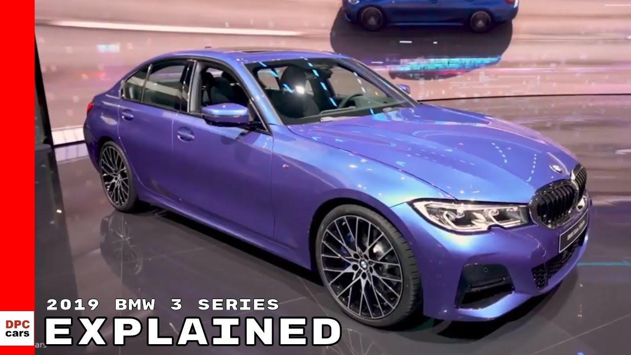 Bmw 3 Series G20 >> New 2019 BMW 3 Series Explained - YouTube