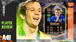 fIFA 20 SCREAM BERNARD REVIEW  84 SCREAM BERNARD PLAYER REVIEW  FIFA 20 Ultimate Team