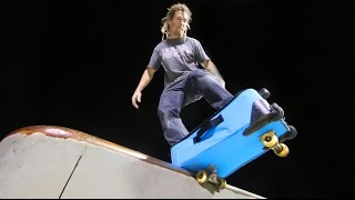 Skating a Suitcase