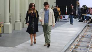 Kate Beckinsale and Callum Turner