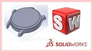 Solidworks tutorial軟件教學 18-P1 IWC手錶
