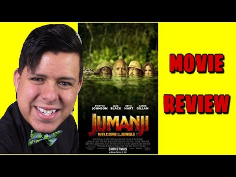 JUMANJI: WELCOME TO THE JUNGLE - Movie Review by JTE Movie