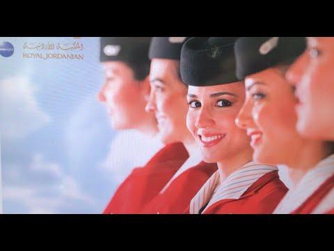Royal Jordanian Flight From Queen Alia Intl Airport Amman, Jordan To John F Kennedy Intl New York