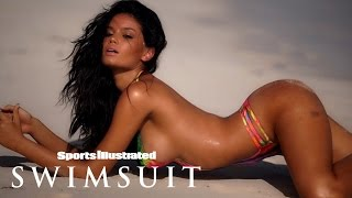 Brazilian Beauty Anne de Paula Bares All In Body Paint | Model Search | Sports Illustrated Swimsuit