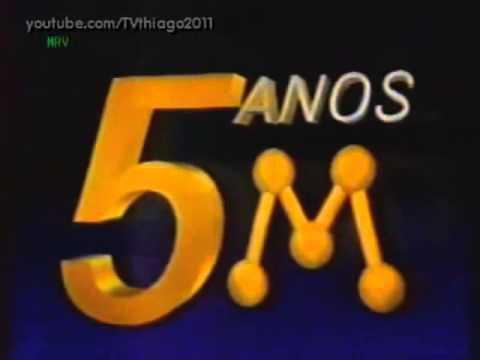Vinheta: Rede Manchete - 5 anos (1988)