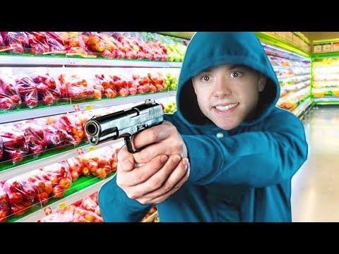ROBBING A SUPER MARKET! | I'll Take You To Tomato Town