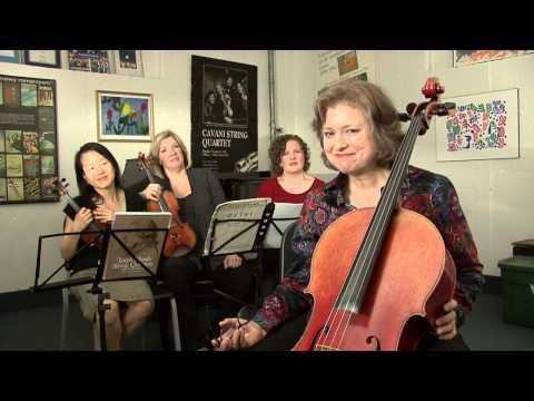 DVD1-Cavani Quartet on Music Education/Cleveland Institute of Music/Cleveland, OH