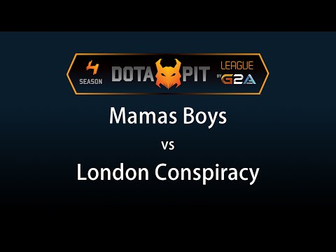 Mamas Boys vs London Conspiracy Game 2 - Dota Pit 4 G2A - @DotaCapitalist @heen1337