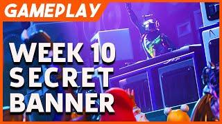 Fortnite Season 6 - Week 10 Secret Banner location