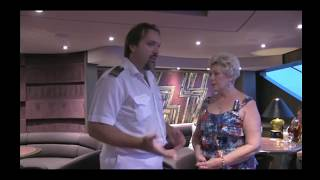 J R World Travel Interview with MSC Captain & Officers