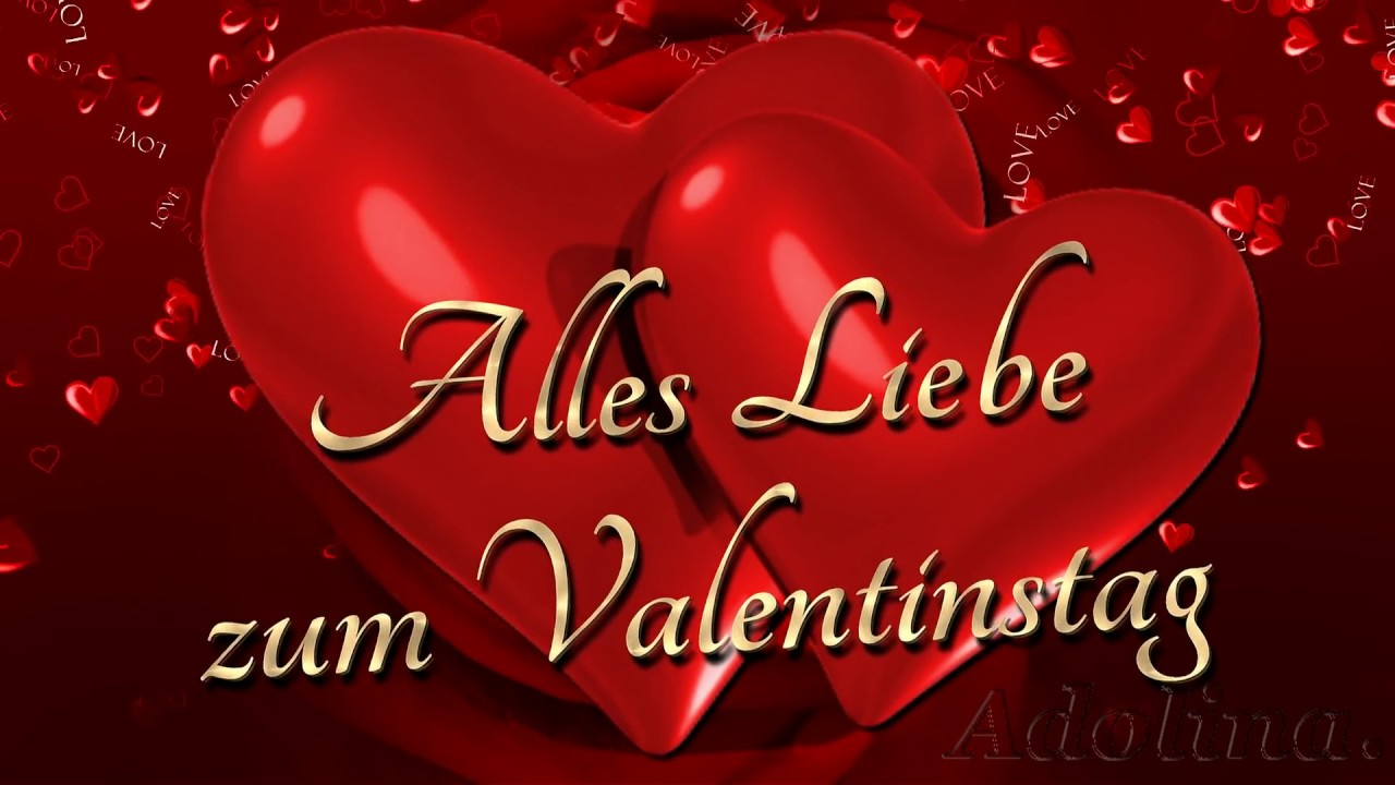 Alles Liebe Zum Valentinstag Happy Valentine S Day Ich