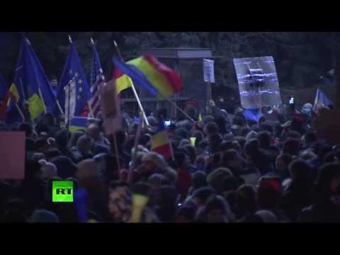 Après quatre soirées de manifestations, le pouvoir prêt à lâcher du lest en Roumanie (Direct du5.02)
