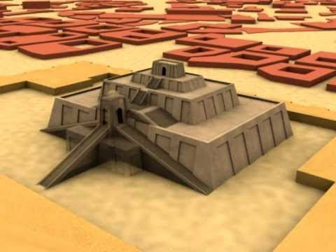 Qué es un zigurat.mpg - YouTube Ziggurat Mesopotamia Model