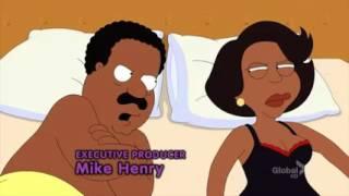 Cleveland Show Season 4-California Dreamin' Dentist Visit Floss Blood Cutaway Gag