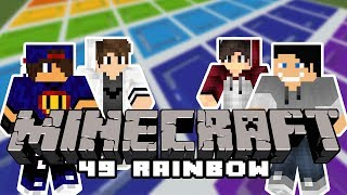 Minecraft Parkour: Rainbow 49 [3/x] w/ Undecided, Tomek, Piotrek