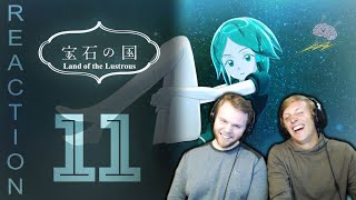 SOS Bros React - Land of the Lustrous Episode 11 - The Past's Secrets...