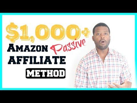 Amazon Affiliate Marketing - Fastest Way To Start Make Money in 2019 thumbnail
