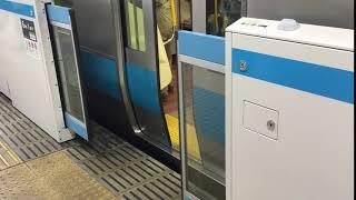 JR東日本 上野駅1番線 ホームドア