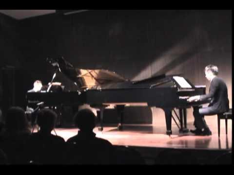 """2台ピアノ ミレール Sidney Miller  """"O Circo"""" (The circus) arr by R. Gnattali"""
