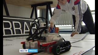 Робот «Хомяк» едет за победой на фестиваль в Новосибирск, ''Вести-Иркутск''
