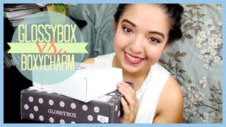 UNBOXING ♡ Glossybox Vs. Boxycharm (September 2014) Thumbnail