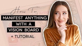 How To Make A Vision Board That REALLY Works! | Law of Attraction