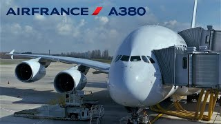 Air France Airbus A380, Paris CDG to Miami Intl , Florida [FULL FLIGHT REPORT]