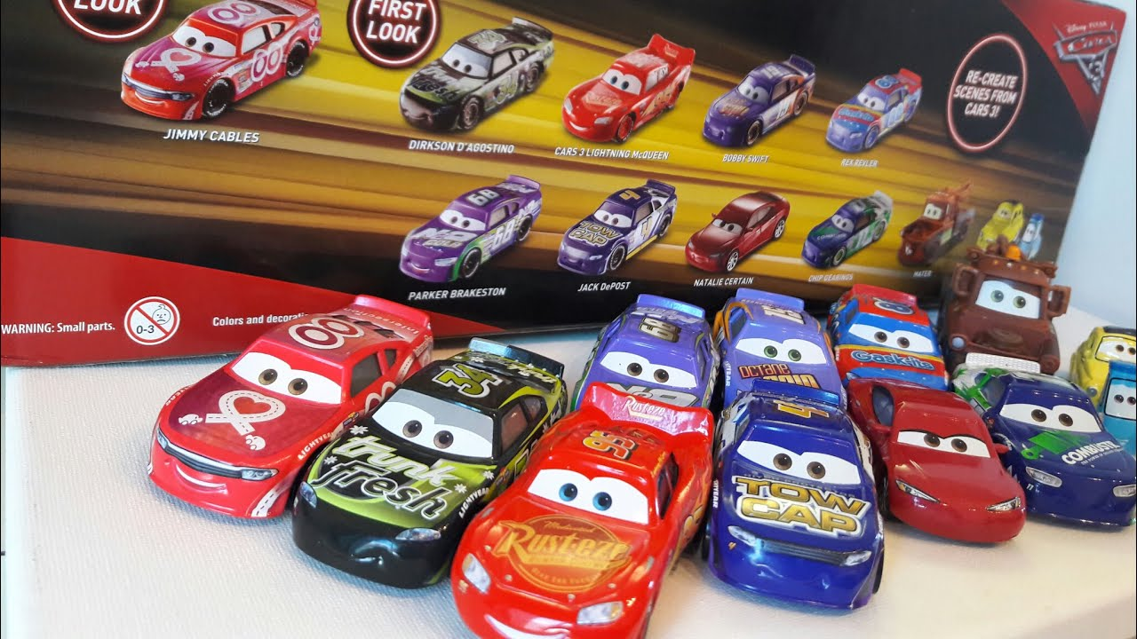 Cars 3 Motor Speedway Of The South 11 Pack Youtube