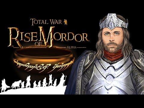 Total War Властелин колец Rise Of Mordor для Total War Attila