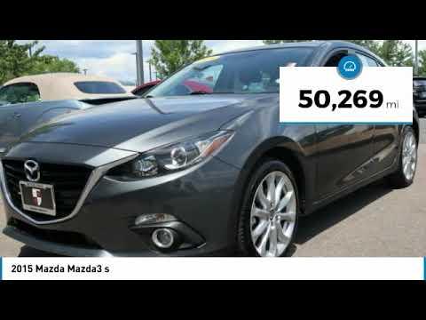 2015 Mazda Mazda3 Boulder Colorado 1242564A