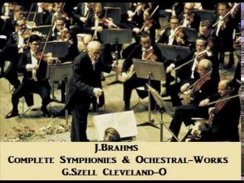 J.Brahms Complete Symphonies & Ochestral Works [ G.Szell Cleveland-O ] (1955~67)