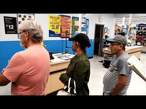 Walmart auto center service review on CX-9 tire replacements