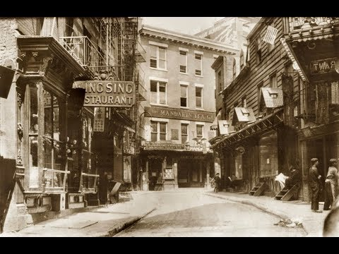 Old Photographs of Daily Life in Manhattan's Chinatown from the 1900s