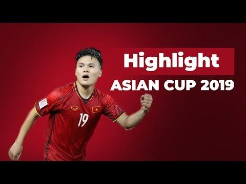 Nguyễn Quang Hải - Những pha bóng đẳng cấp tại Asian Cup 2019 ( Highlight Quang Hai Asian Cup 2019 )