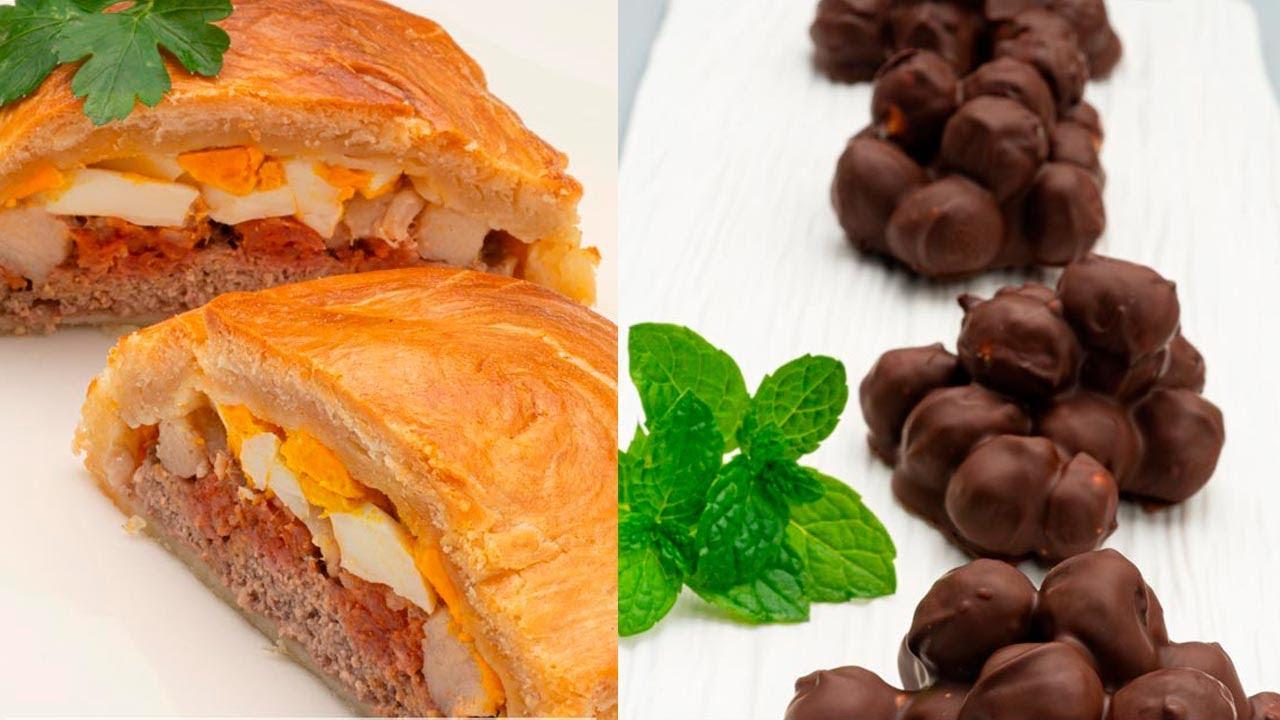 Pastel De Carne Murciano Bocado De Avellanas Y Chocolate Cocina Abierta De Karlos Arguiñano Youtube