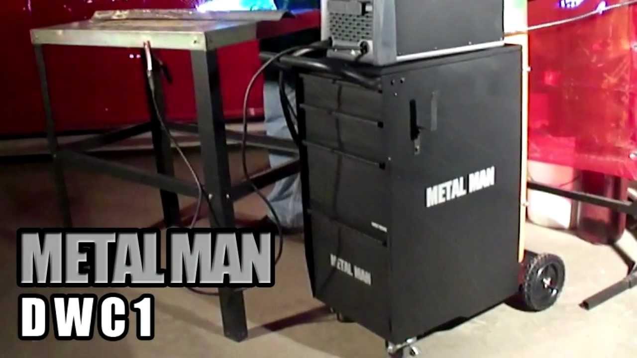 Metal Man Deluxe Welding Cart DWC1  YouTube