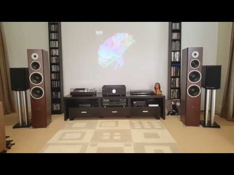 Dynaudio excite x44 & Musical Fidelity M6 500i meets 'Muse- Madness' (view in HD)