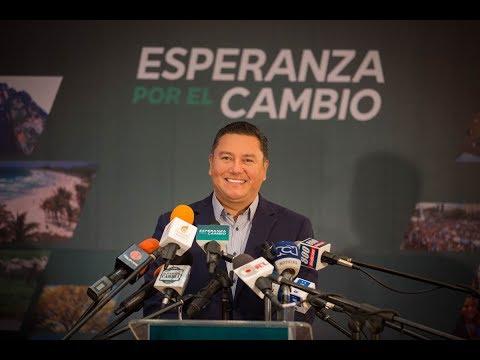 Lanzamiento a la presidencia de Venezuela de Javier Bertucci · #EsperanzaPorElCambio