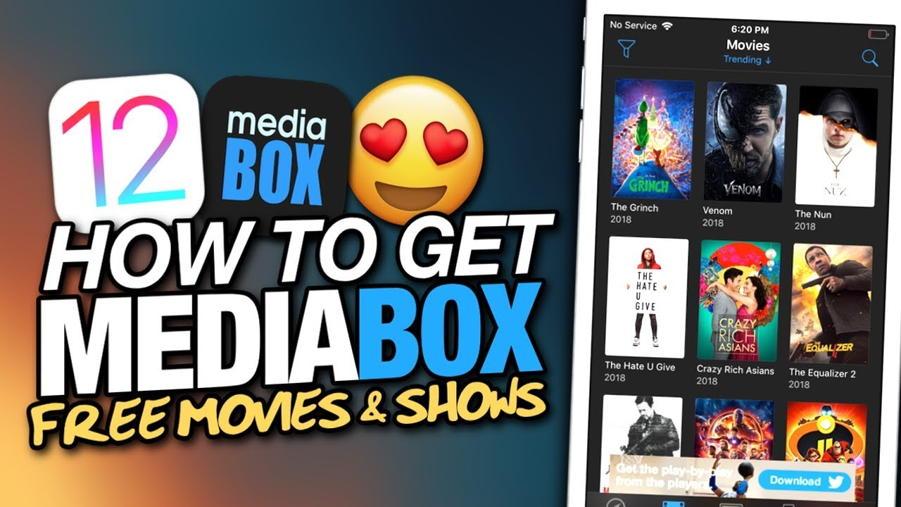 How To Get MEDIABOX HD On iOS 12 - FREE MOVIES & TV SHOWS