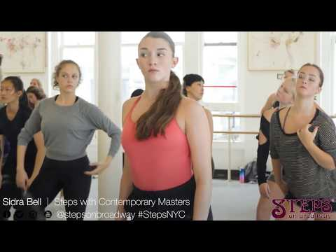 Sidra Bell | Steps with Contemporary Masters | Steps on Broadway